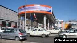 یک پمپ بنزین در تهران
