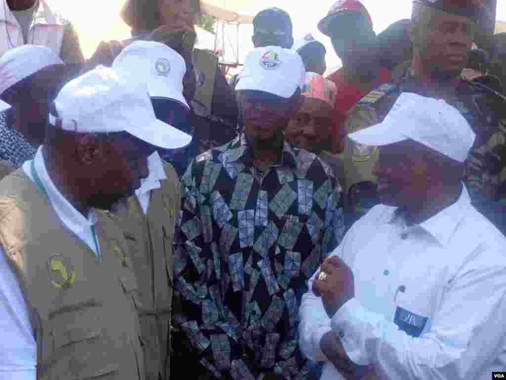 Joaquim Chissano, Manuel Serifo Namadjo, Eleições Gerais Guiné Bissau de 13 de Abril de 2014