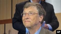Pendiri Microsoft dan filantropis Bill Gates dalam kunjungan ke Australia, Maret 2013. (AP/Rod McGuirk)