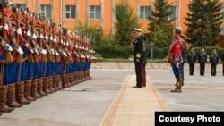 美军太平洋司令洛克利尔8月初访问蒙古。(照片来源:美国军方照片)