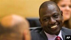 肯尼亞副總統威廉.魯托在海牙國際刑事法院