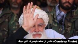"""سیاف پیشتر گفته بود که حمله کنندگان انتحاری طالبان """"مستقیم به جهنم می روند"""""""