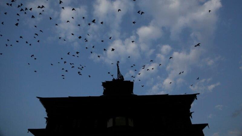 بھارتی کشمیر کی تاریخی خانقاہ میں آتشزدگی