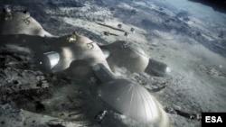 کاوش بر روی ماه