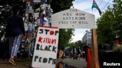 Khu tự trị người biểu tình tại Seattle thành lập có tên tắt là CHOP