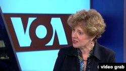 Ketua Komisi Etika DPR AS, Susan Brooks (Foto:VOA/Videograb)