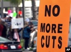 反对删减预算