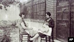 Η Τόβα και Μαίρη Ουαζιέλ στη Θεσσαλονίκη λίγο πριν τον Δεύτερο Παγκόσμιο Πόλεμο