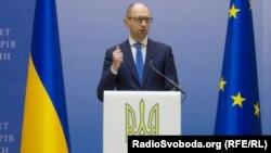 Премьер-министр Украины Арсений Яценюк (архивное фото)