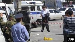 Dağıstan respublikasında polis idarəsi yaxınlığında hücum həyata keçirilib