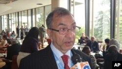 سید غلام نبی فای مدیر اجراییوی شورای امریکایی های کشمیری