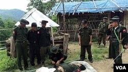 Tentara pemberontak etnik minoritas Kachin di Birma (foto: dok.).