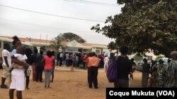 Angolaos foram votar