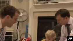 Chris Kline and Jim Lacey have been living together for 13 years and have a two-year-old son, Jeremy