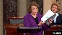Ketua Komisi Intelijen Senat AS, Senator Dianne Feinstein (foto: dok).