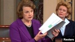 参议员范因斯坦讨论参议院情报委员会报告