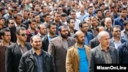 """هزاران """"مامور نامحسوس پلیس"""" در پایتخت ایران از روز ۳۰ فروردین ماه آغاز به کار کردهاند."""