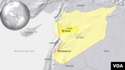 Oblast Hama, Sirija