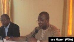 Issoufou Maiga, président de l'OTRAF, au Burkina, le 14 février 2017. (VOA/Issa Napon)