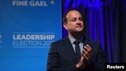 Ireland ႏိုင္ငံ အာဏာရ Fine Gael ပါတီရဲ႕ေခါင္းေဆာင္Leo Varadkar ။
