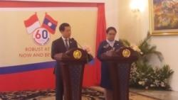 Indonesia, Laos Sepakat Tingkatkan Kerjasama