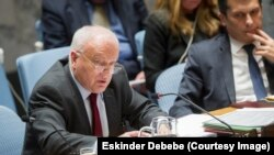 Australia's Ambassador to the United Nations Gary Quinlan is the president of the Security Council for the month of November, 2014.
