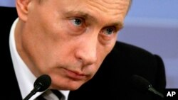 俄罗斯总理普京(资料照片)