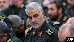Komandan Pasukan Quds, Qassem Soleimani, yang tewas dalam serangan AS.