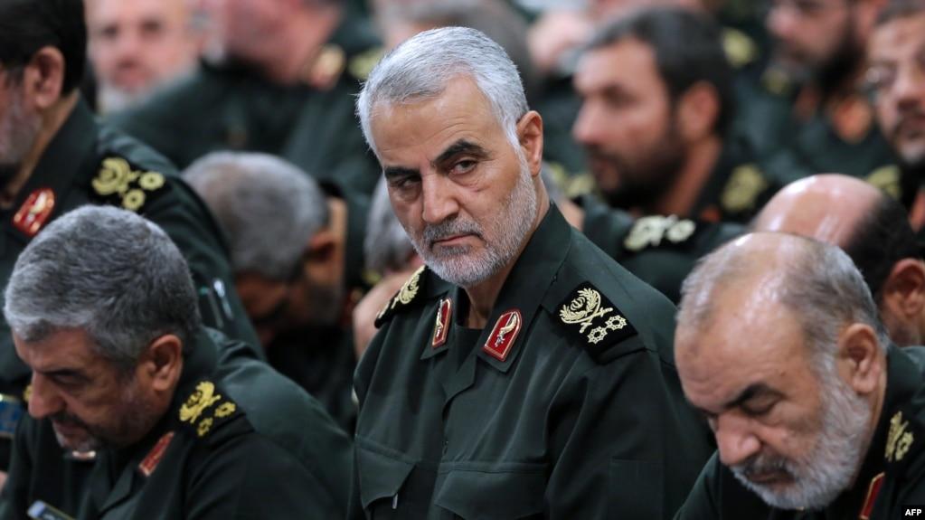 Chỉ huy quân sự Iran Qassem Soleimani.