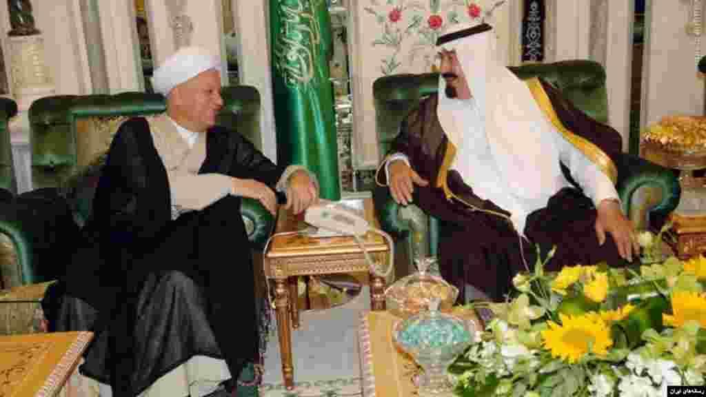 آقای رفسنجانی دو دوره رئیس جمهوری ایران بود. در اواخر دوره ریاست جمهوری او و اوایل دوره محمد خاتمی، روابط ایران و عربستان سعودی به ابتکار رفسنجانی در بهترین شرایط بود.