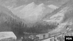Prva transkontinentalna željeznica, ne bez doprinosa kineskih radnika