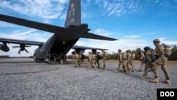 ARHIVA - Američki vojnici povlače se iz Avganistana u januaru 2021.