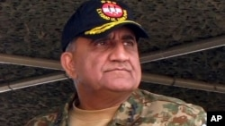 Pakistan's army senior officer Lt. Gen. Qamar Javed Bajwa, seen in this Nov. 16, 2016 photo, has been appointed new military chief.