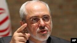 Menteri Luar Negeri Iran Javad Zarif menegaskan bahwa Iran ingin menyelesaikan isu nuklirnya (foto: dok).