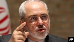 무함마드 자바드 자리프 이란 외무장관 (자료사진)