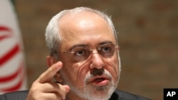 Ngoại trưởng Iran Mohammad Javad Zarif.