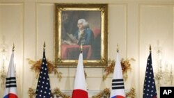 6일 워싱턴에서 개막된 미-한-일 외무장관 회담