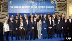 Učesnici sastanka o podršci libijskim pobunjenicima, održan u Rimu