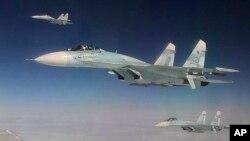 روسیه بم افگنها و جتهای جنگی خود را در پایگاه هوایی همدان ایران مستقر ساخته است