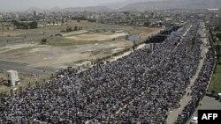 Протест опонентів уряду у столиці Ємену Сані