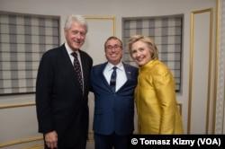 Murat Güzel Clinton çiftiyle