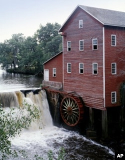Wisconsin has always been an industrious place. Beginning in 1854, Dells Mill gristmill in little Augusta, ground the wheat that fueled Wisconsin's economy. It's now a museum.