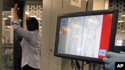 新式全身扫瞄软件在拉斯维加斯机场测试