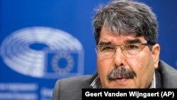 Salih Müslim Eylül ayı başında Brüksel'de Avrupa Parlamentosu'nda yaptığı konuşmada