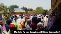 Matan kungiyar Musulmi ta FOMWAN reshen jihar Sokoto.