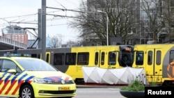 荷蘭烏得勒支市(Utrecht)星期一搶手向乘坐有軌電車的乘客開槍。