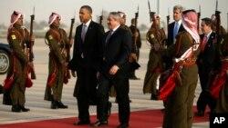 Барак Обама прибыл в Иорданию