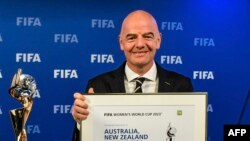 Shugaban FIFA Gianni Infantino