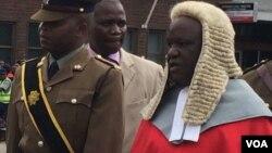 Mukuru wevatongi vematare Justice Luke Malaba