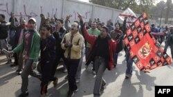 Fudbalski navijači demonstriraju u Port Saidu protiv nasilja na utakmicama